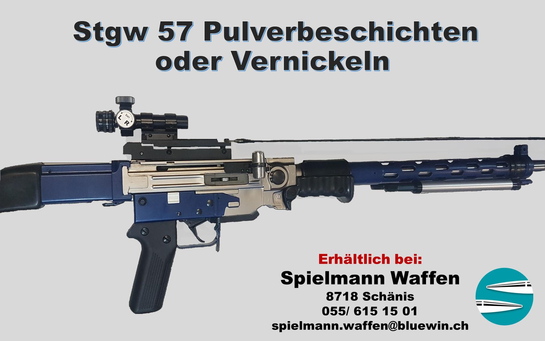 8436602-Stgw_57_Pulverbeschichten,Vernic